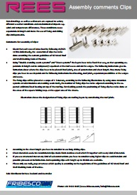 REES ASSEMBLY CLIP MONT ENG pdf - REES Clips