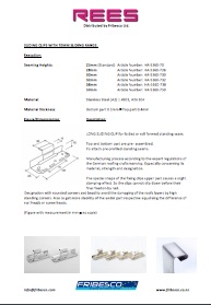 REES INFO SLIDING CLIPS WITH 70MM SLIDIGN RANGE pdf - REES Clips