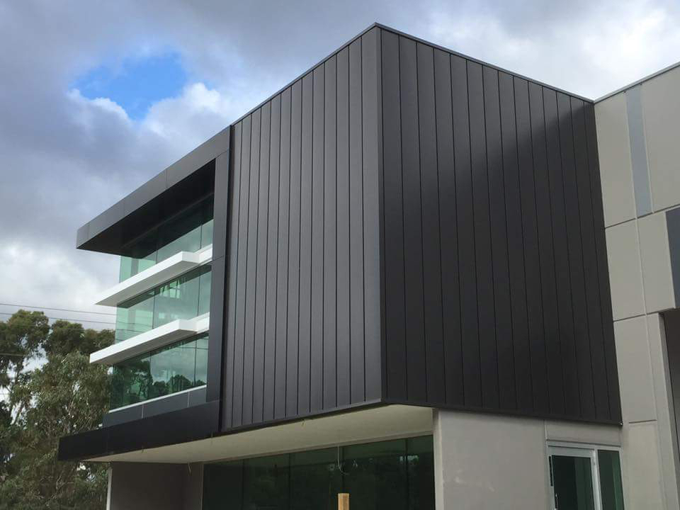 Commercial Building With Acs Metal Cladding