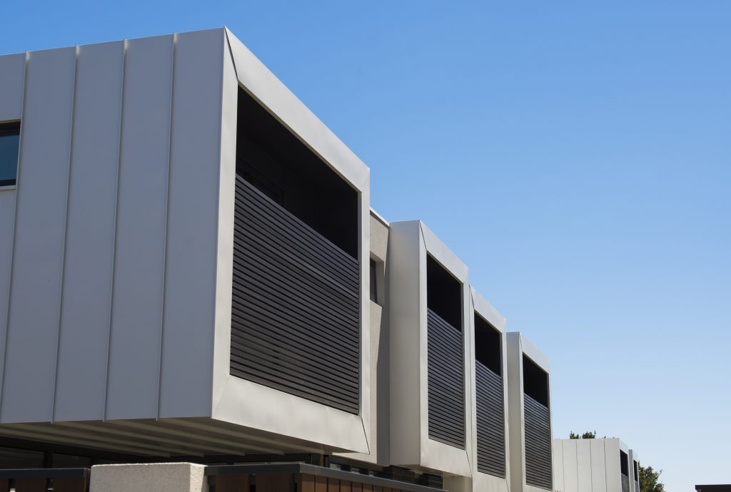 Exceptional Metal Cladding Made From Colorbond 174 Metallic Steel