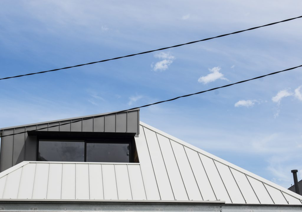 , COLORBOND® steel provides a striking finish with Standing Seam Metal Cladding