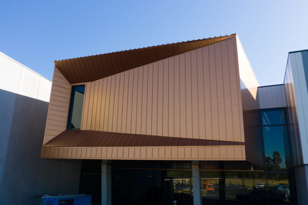 , PICAC Impresses With COLORBOND® steel Interlocking Panels