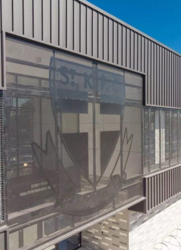 COLORBOND® steel Matt a winner for St Kilda Football Club   Architectural Cladding Suppliers 741x1024 - Projects