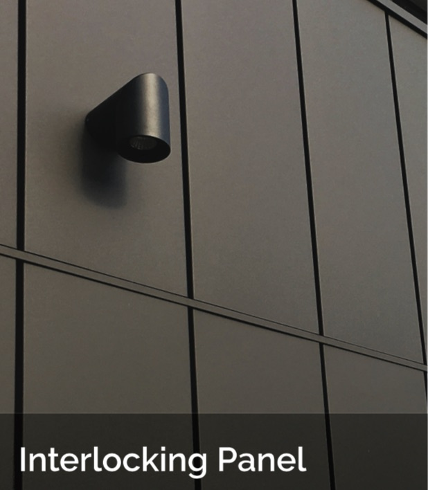 Interlocking ACS - Snaplock Metal Cladding and Roofing