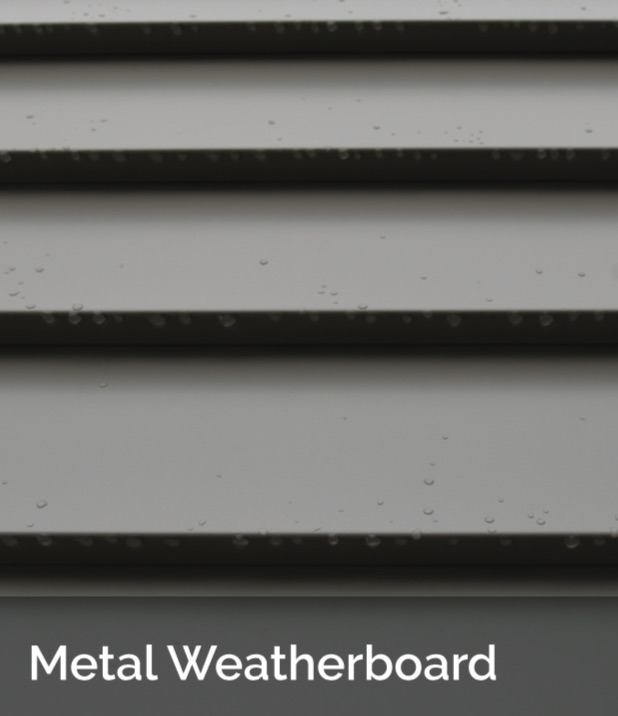 Metal Weatherboard ACS - Shingle and Flatlock Metal Cladding