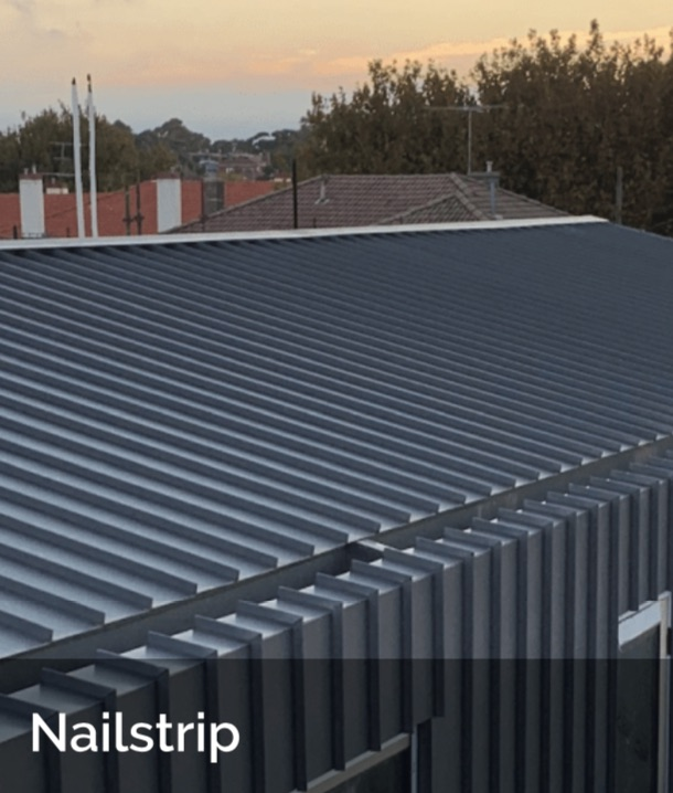 Nailstrip ACS - Shingle and Flatlock Metal Cladding