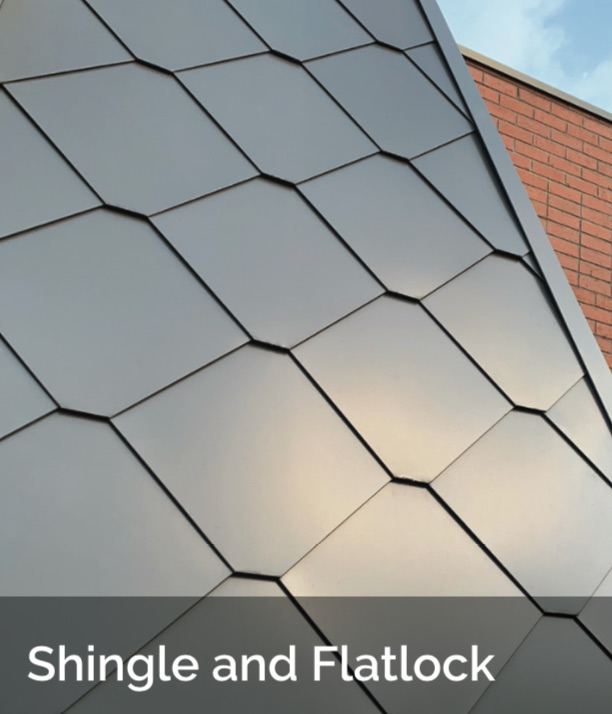 Shingle and Flatlock ACS - Shingle and Flatlock Metal Cladding