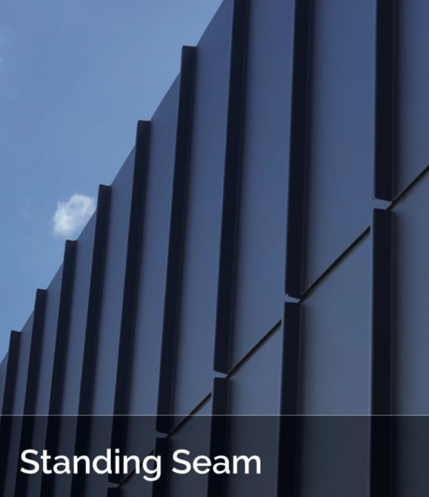 Standing Seam ACS - Shingle and Flatlock Metal Cladding