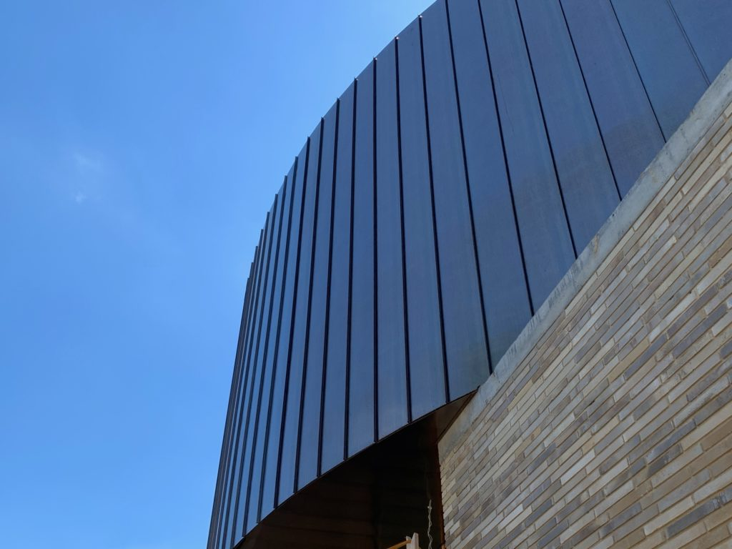 IMG 1512 1024x768 - Copper Standing Seam Metal Cladding hits a new level!