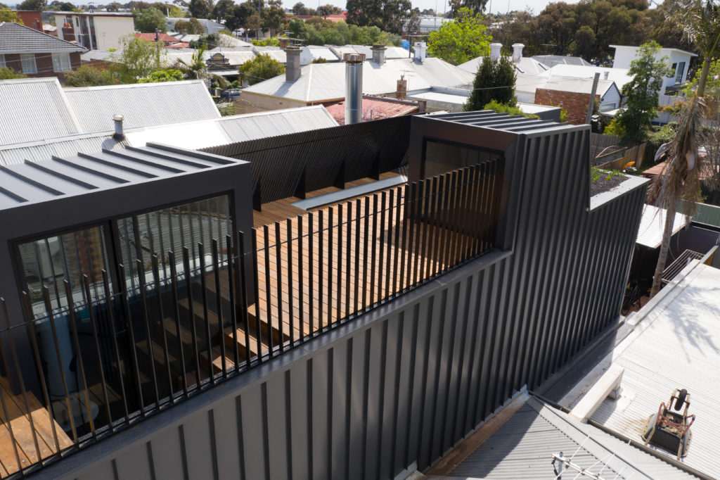 , Nailstrip Metal Cladding Shows Up In the Heart Of Trendy Brunswick
