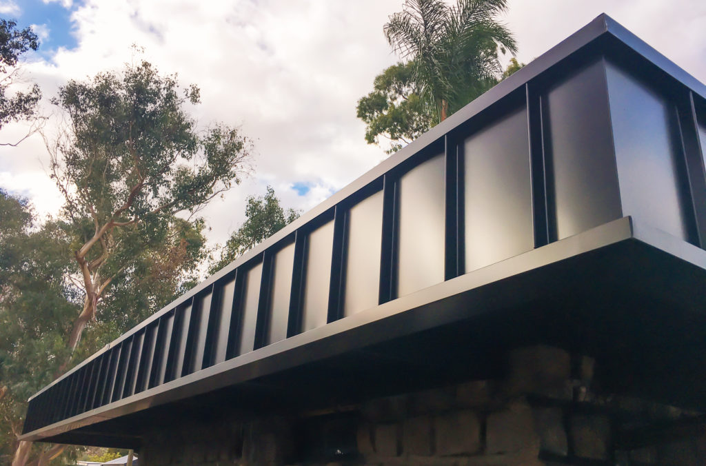 , COLORBOND® steel Night Sky® Is At Its Best In Mt Eliza!