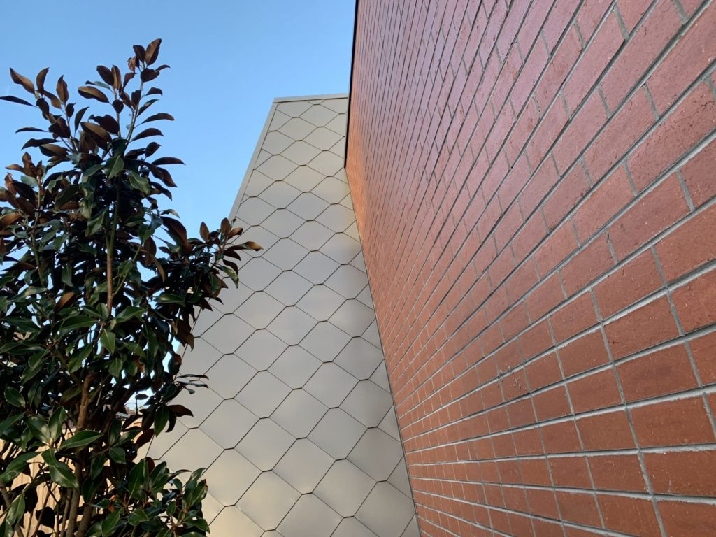 ", COLES receives an impressive finish with our ""Metal Shingle Cladding"""