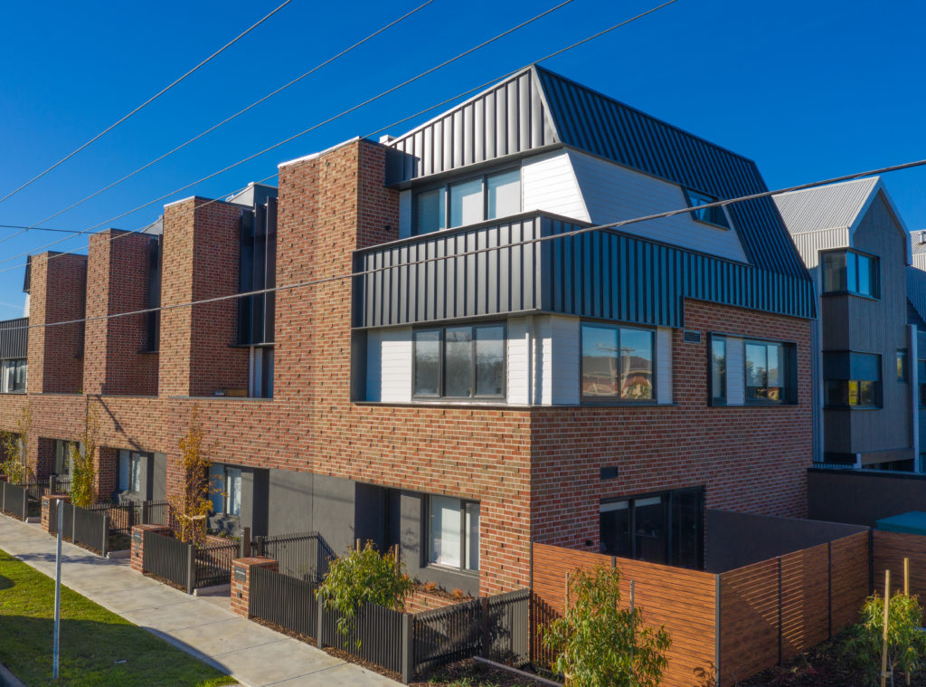 , McKinnon Is Transformed By Nailstrip Metal Cladding and Flatlock Metal Cladding