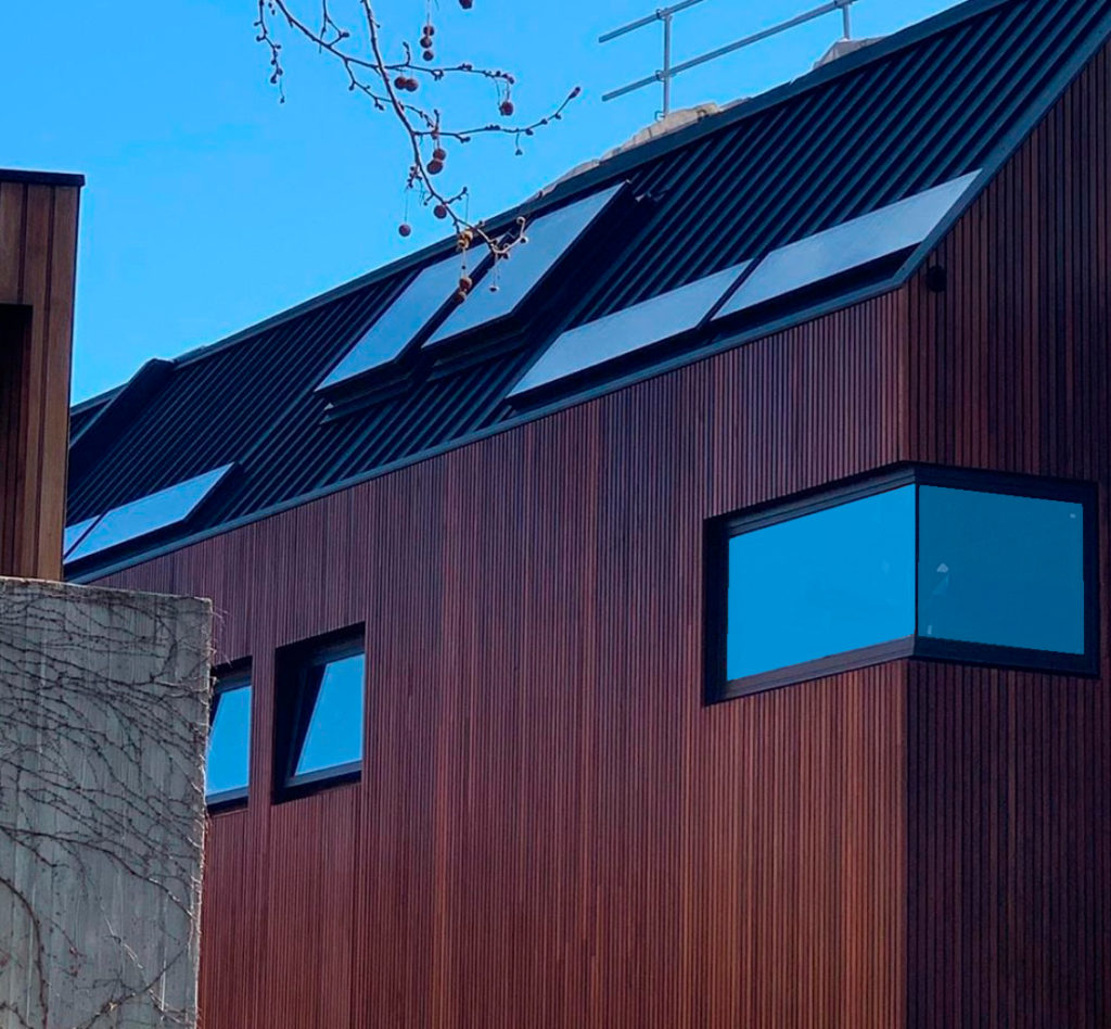 , Snaplock Metal Cladding Paired Perfectly With Natural Timber