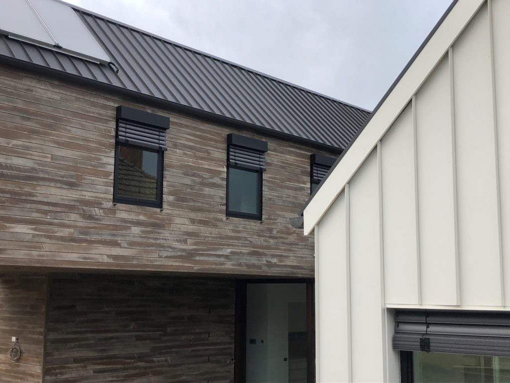 , Snaplock Metal Cladding Shines In Sandringham!