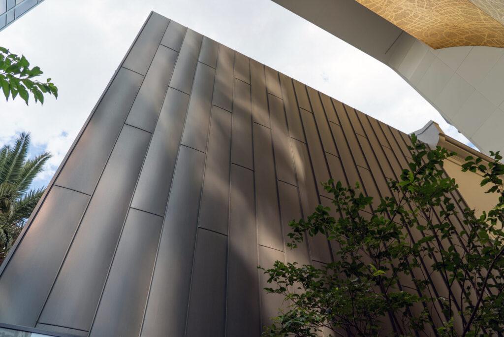 , Standing Seam Metal Cladding Finished In Rheinzink® Makes A Statement In Melbourne