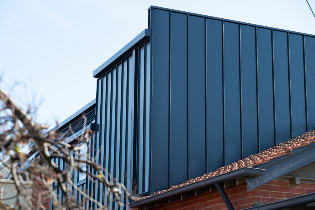 , Standing Seam Metal Cladding Brings The Wow Factor