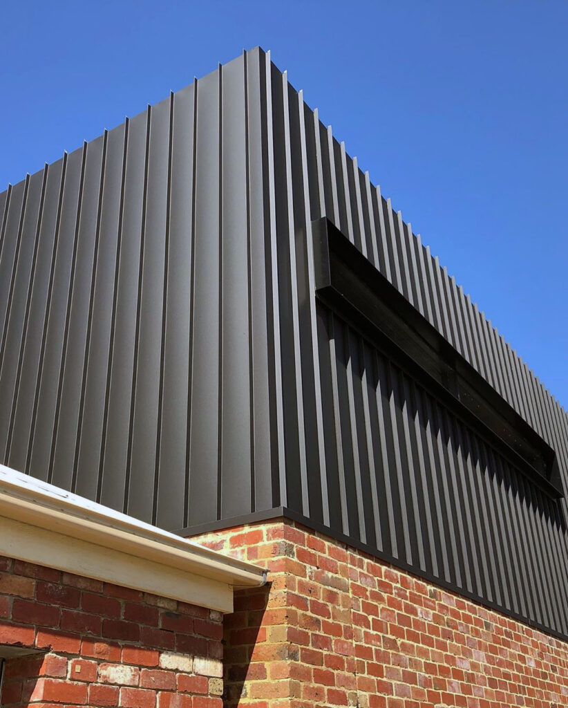 , Nailstrip Metal Cladding Achieves Stunning Definition In Middle Park