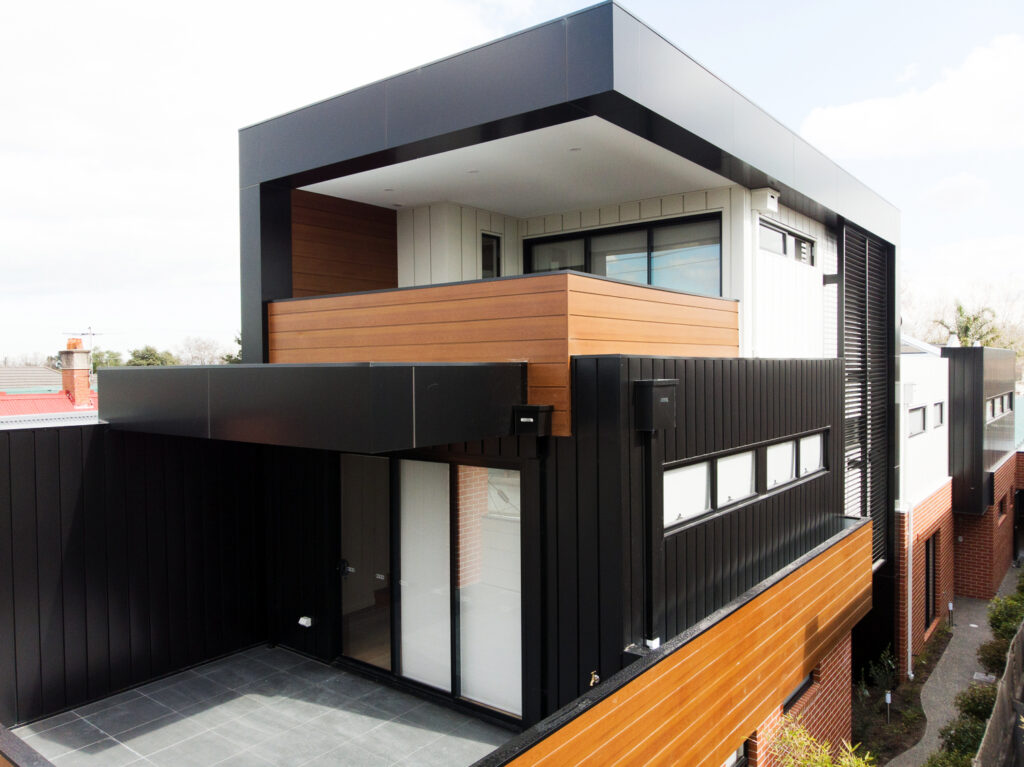 , Interlocking Metal Cladding With COLORBOND® steel Are A Perfect Match